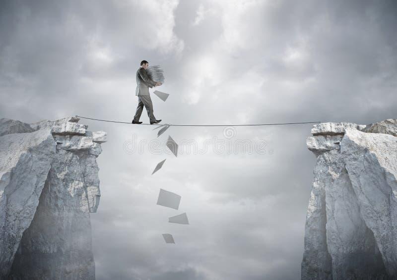 Équilibre d'affaires image stock