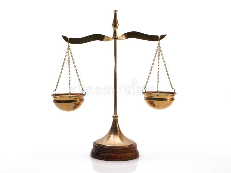 Équilibre de justice photos stock