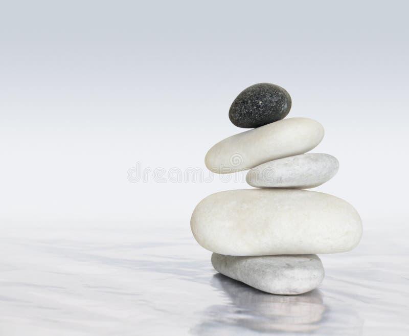 Équilibre de zen photo libre de droits
