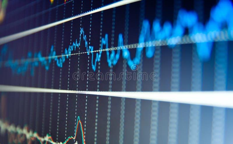 Équilibre financier de société commerciale, image libre de droits