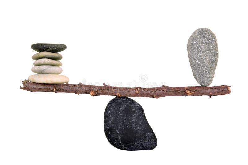Équilibre parfait photos libres de droits