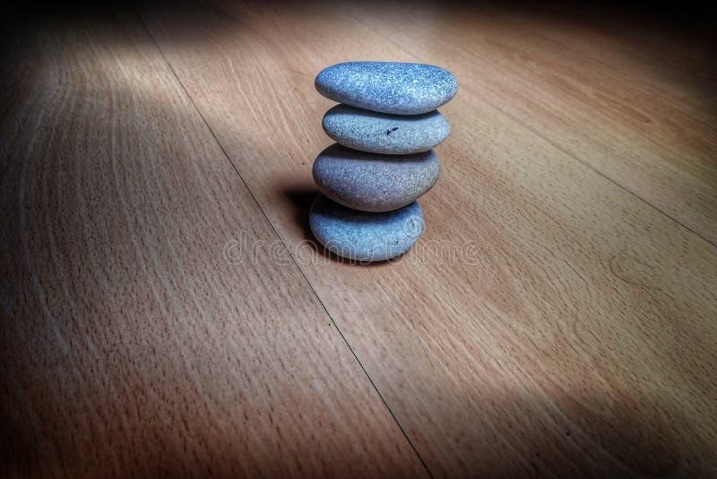 Équilibrez la structure dans votre vie photographie stock libre de droits