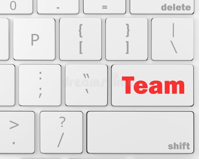 équipe illustration stock