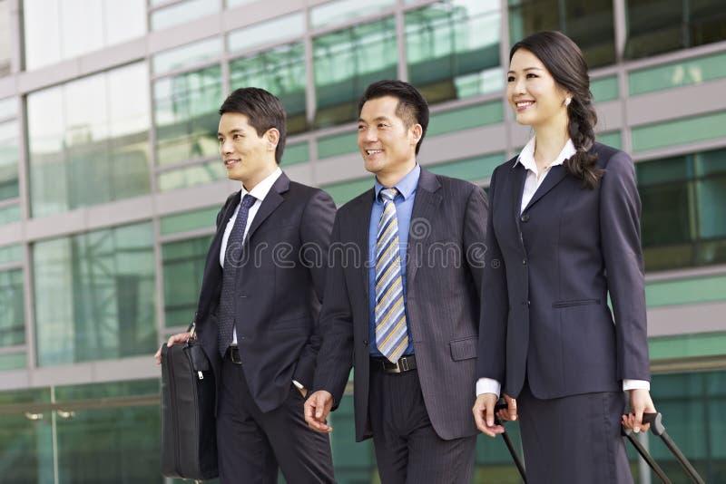 Équipe asiatique d'affaires photo libre de droits