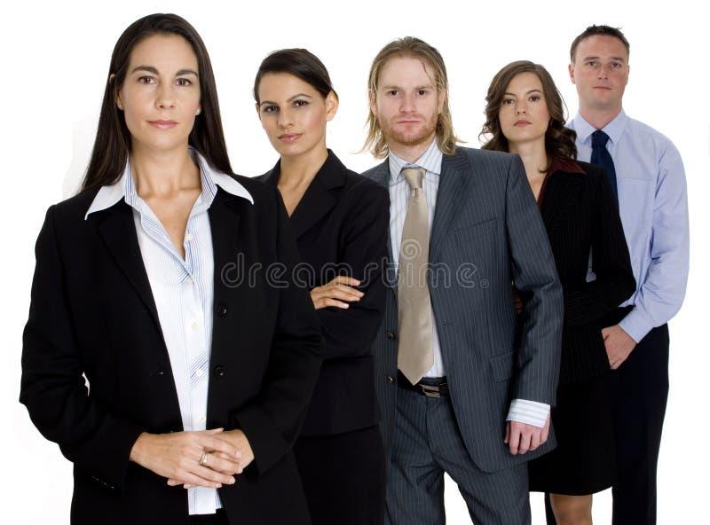 Équipe confiante d'affaires photographie stock
