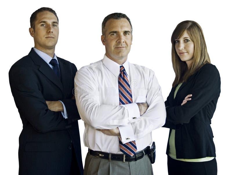 Équipe confiante d'affaires photos stock