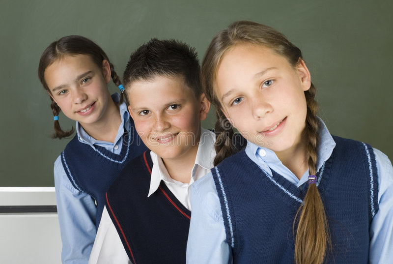 équipe d'école images libres de droits