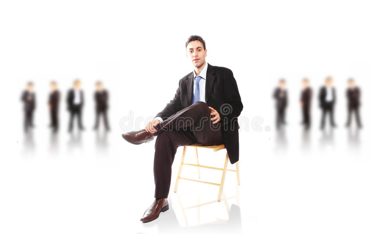 Équipe d'affaires images libres de droits