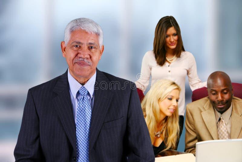 Équipe d'affaires photo stock