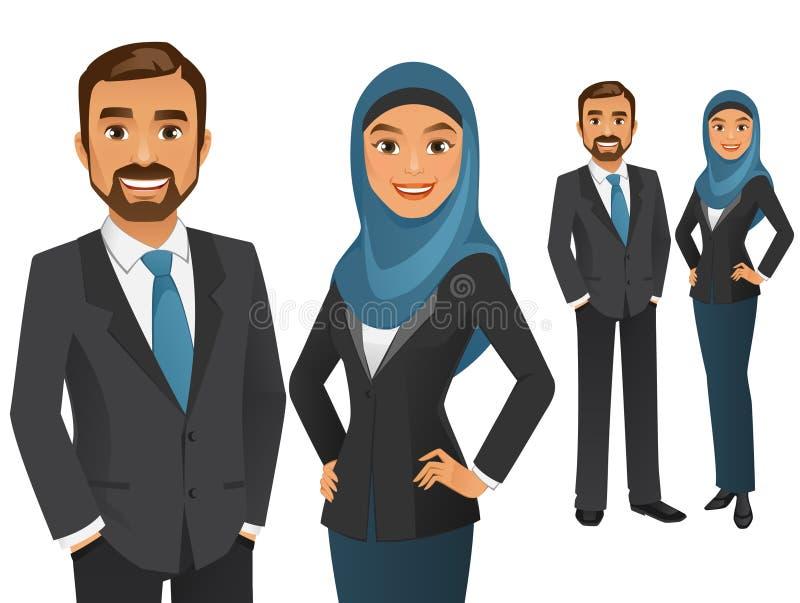Équipe d'affaires illustration stock