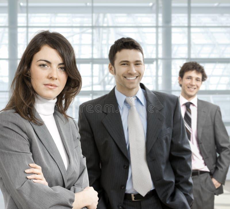 équipe d'affaires image stock