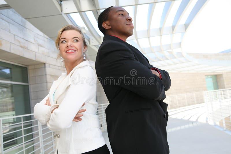Équipe d'affaires d'Attracive image stock