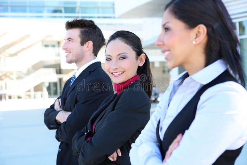 Équipe d'affaires d'homme et de femme image libre de droits