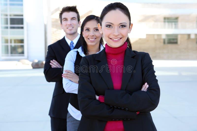 Équipe d'affaires d'homme et de femme photo stock