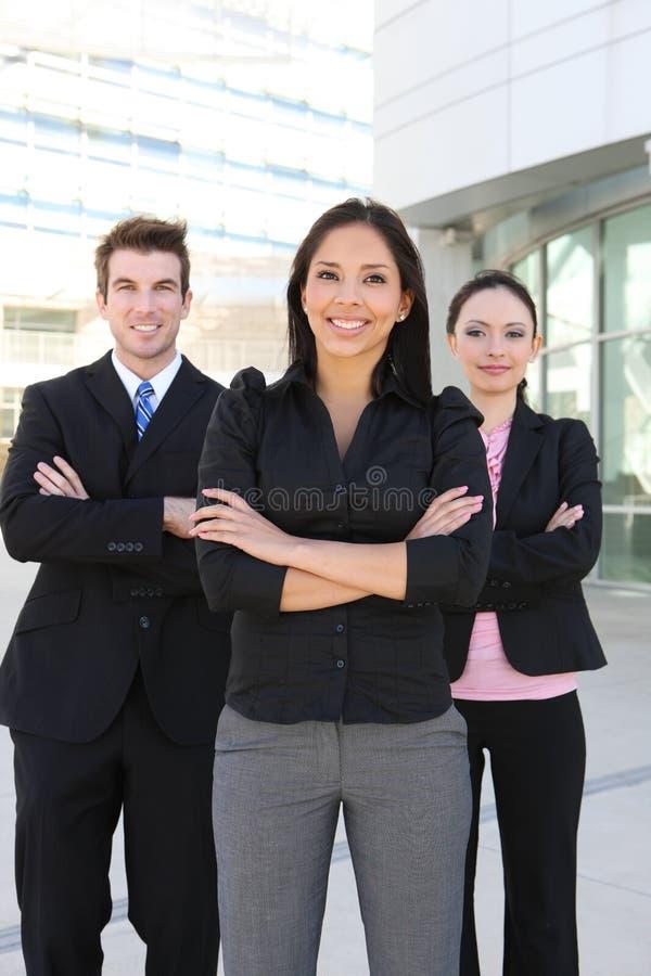 Équipe d'affaires d'homme et de femme images libres de droits