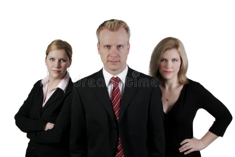 Équipe d'affaires dans le studio photo libre de droits