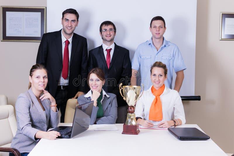 Équipe d'affaires de Succes image stock