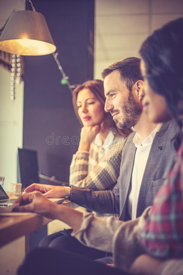 Équipe d'affaires Gens d'affaires travaillant ensemble image libre de droits