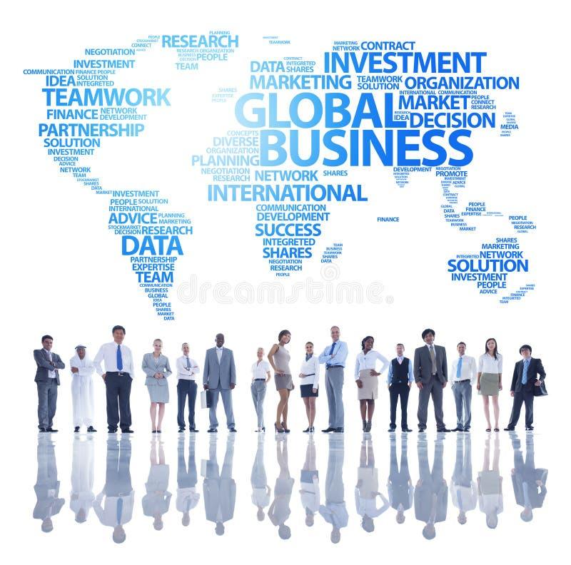 Équipe d'affaires globales photos stock