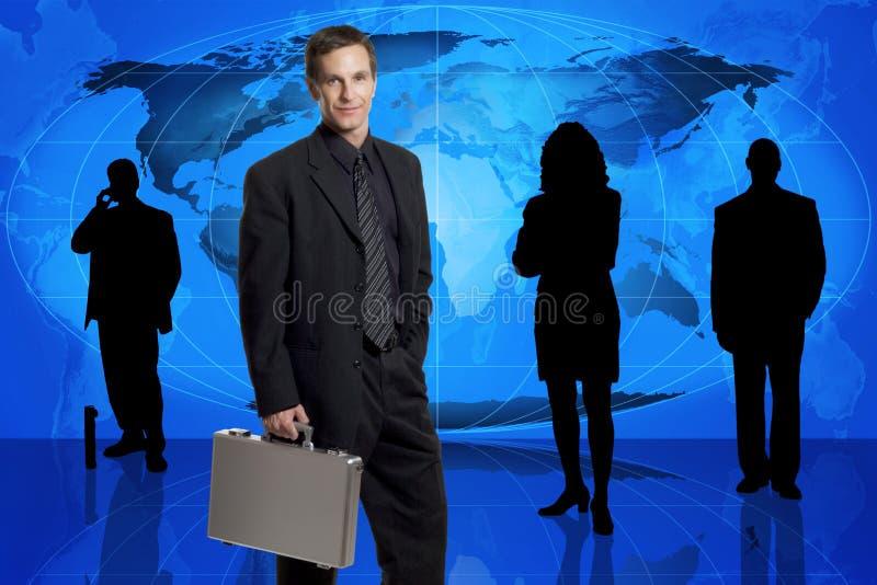 Équipe d'affaires globales photo stock