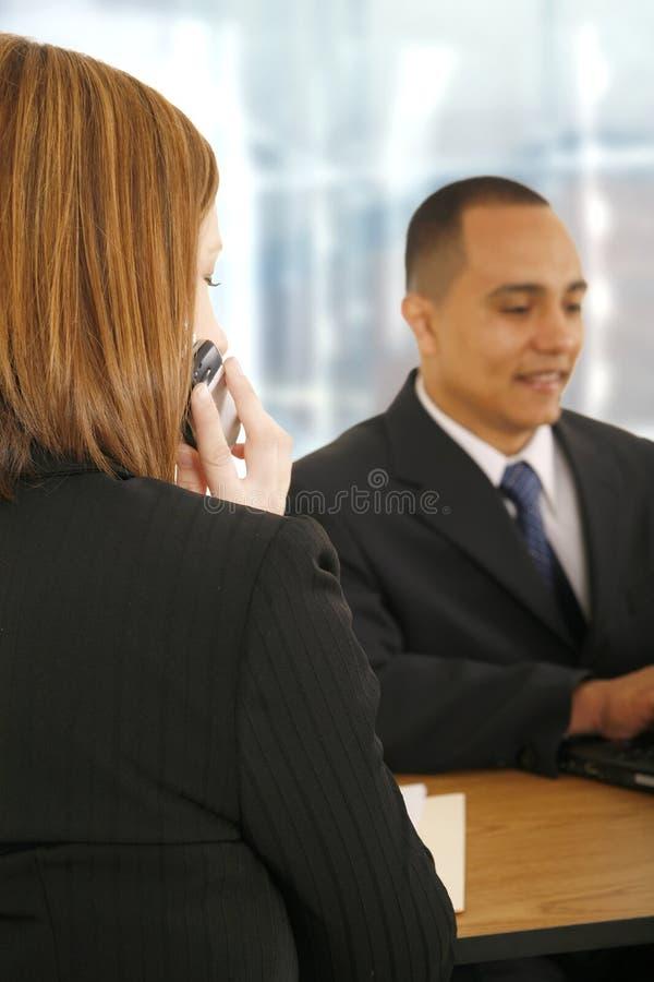 Équipe d'affaires prenant la décision photos libres de droits