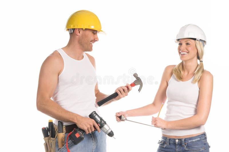 Équipe de construction photos stock