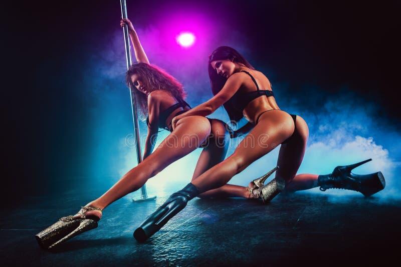 Équipe de danse de Polonais image libre de droits
