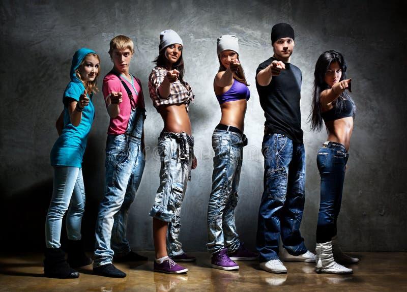 Équipe de danseur photos stock