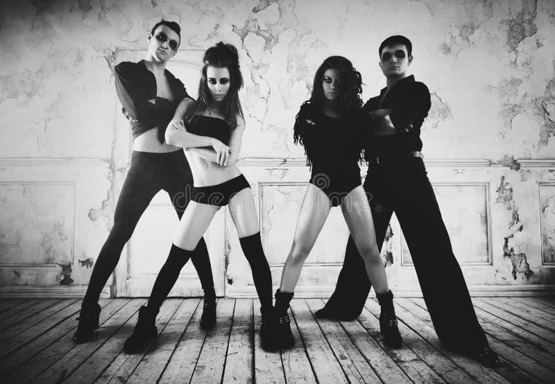 Équipe de danseur image stock