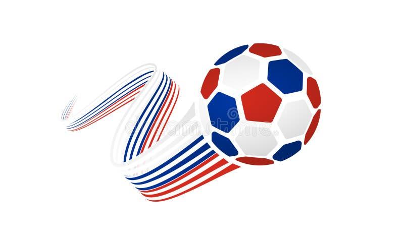 Équipe de football russe illustration de vecteur