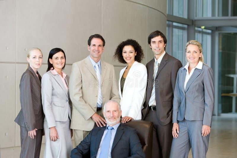 Équipe de gens d'affaires photos stock