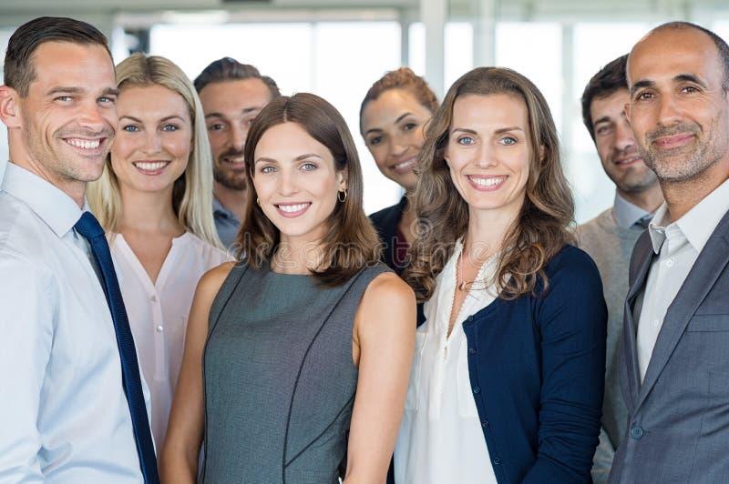 Équipe de gens d'affaires photos libres de droits