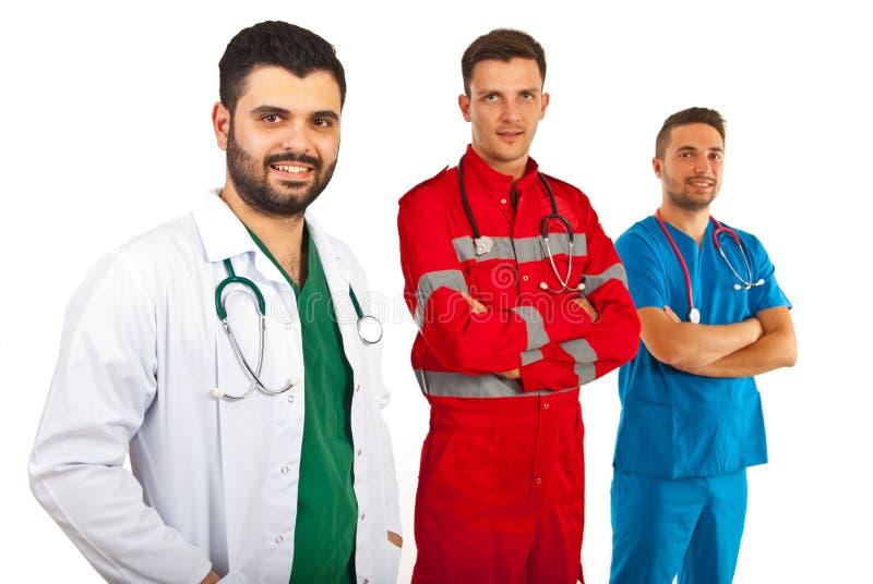 Équipe de médecins photo libre de droits