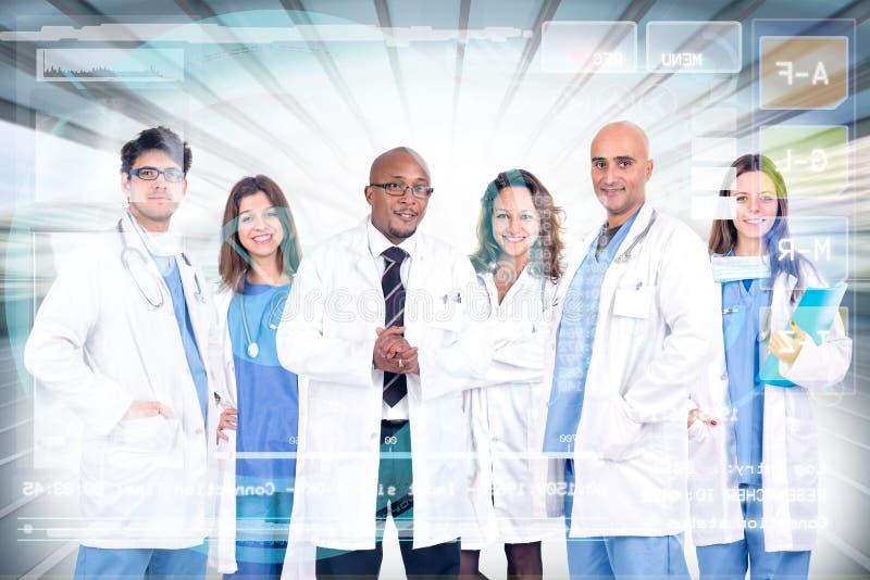 Équipe de médecins image stock