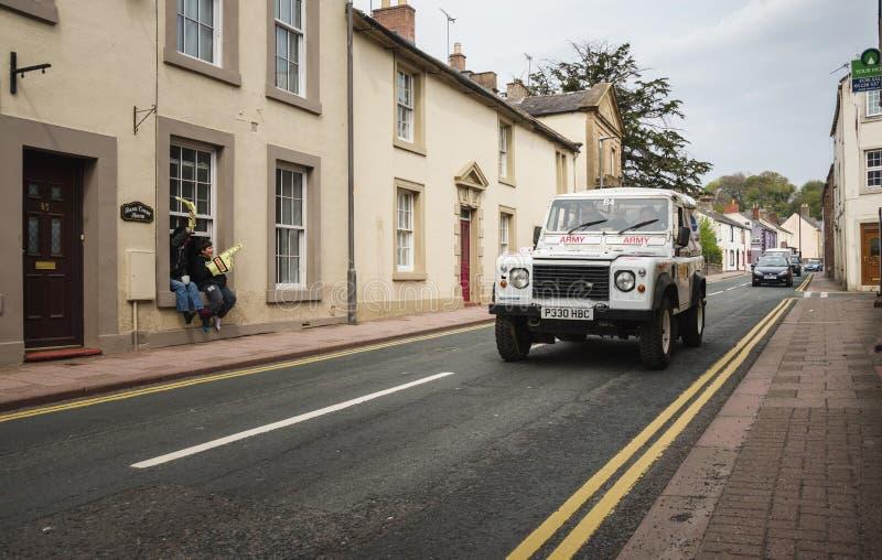 Équipe de rassemblement de forces armées dans Brampton photographie stock libre de droits