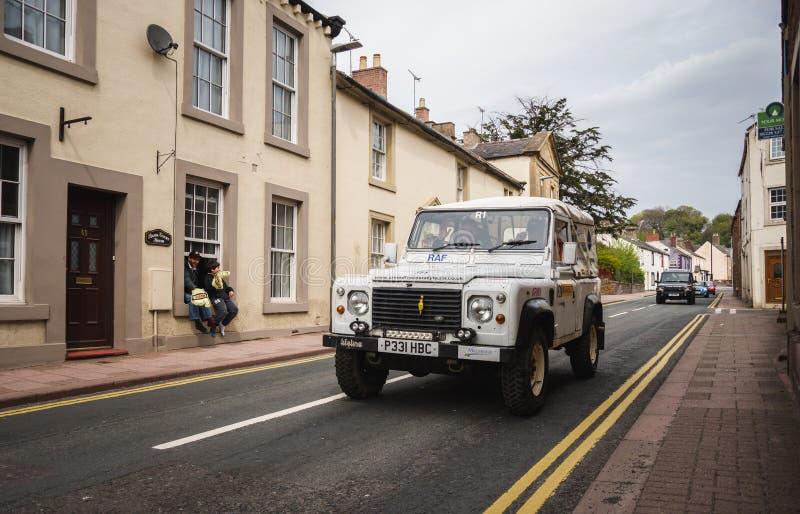 Équipe de rassemblement de forces armées dans Brampton image libre de droits
