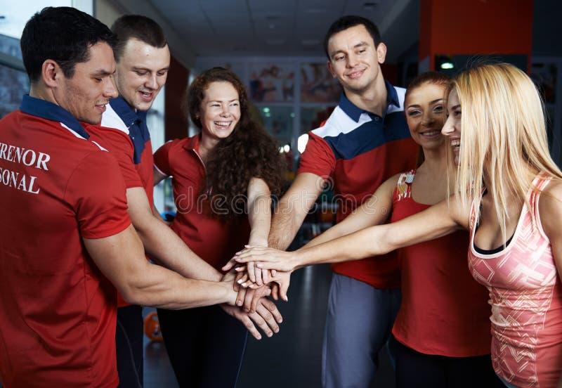 Équipe de sport images stock