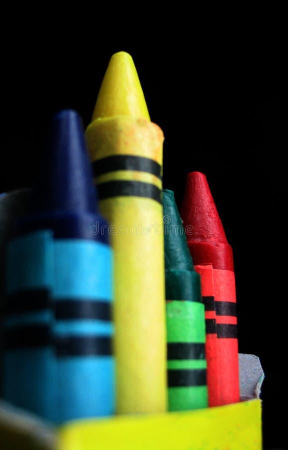 Équipe Des Crayons Photo libre de droits