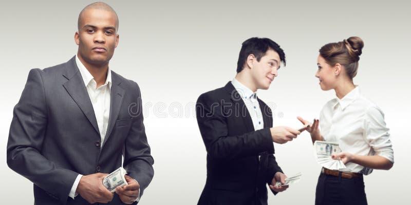 Équipe des gens d'affaires réussis photographie stock libre de droits