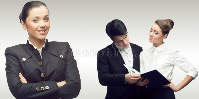 Équipe des gens d'affaires réussis photos libres de droits