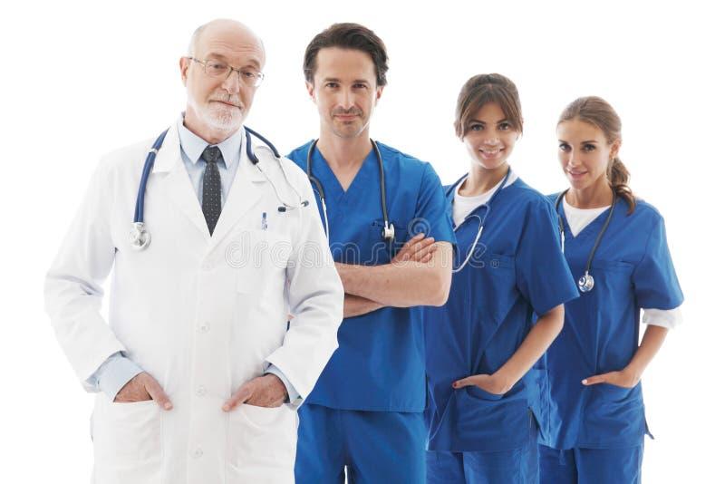 Équipe des médecins photos stock