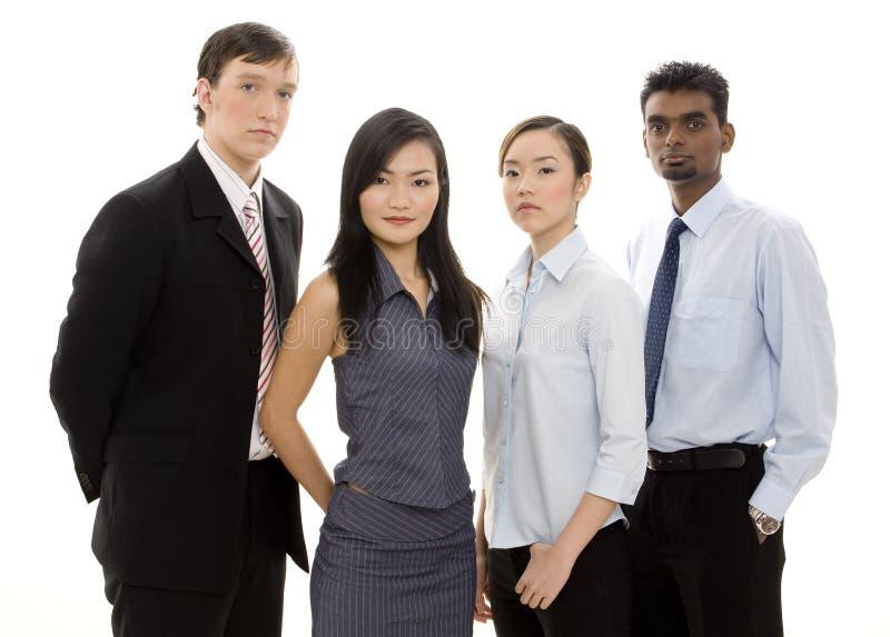 Équipe diverse 3 d'affaires image libre de droits
