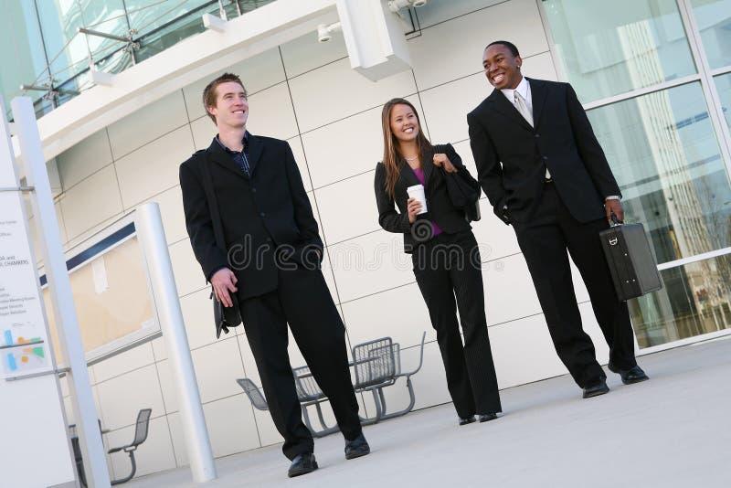 Équipe diverse d'affaires image libre de droits