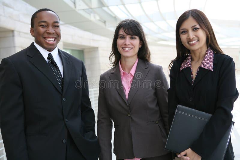 Équipe diverse d'affaires photo stock