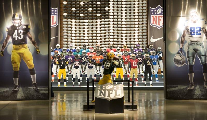 Équipe du NFL image stock