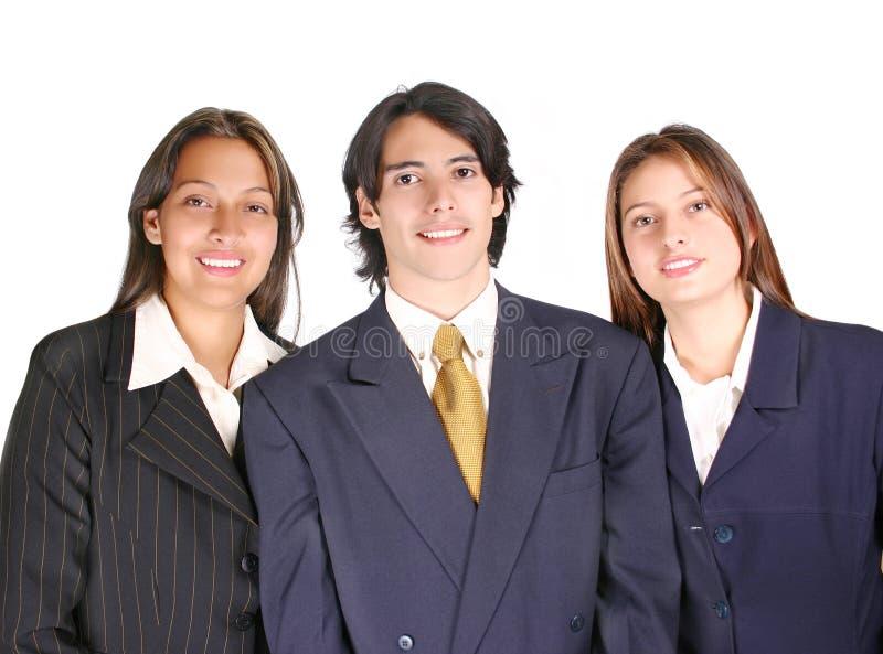 Équipe fière d'affaires photos stock
