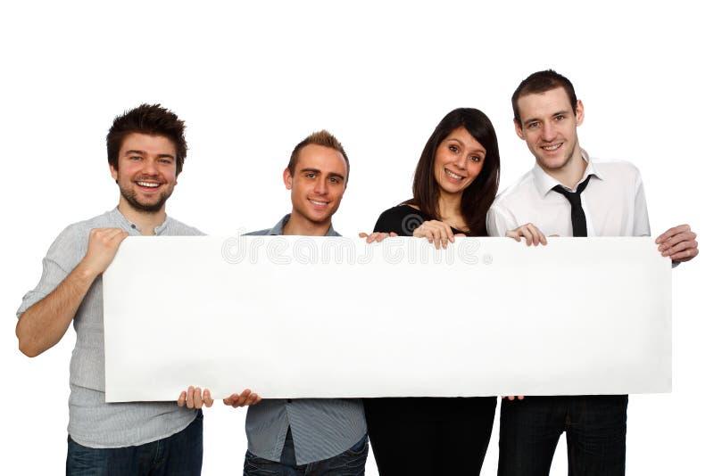 Équipe heureuse images libres de droits