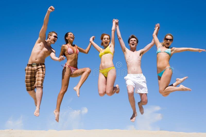Équipe joyeuse photo libre de droits