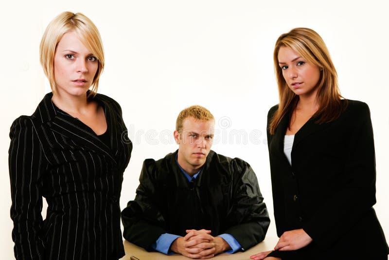 Équipe juridique photo stock