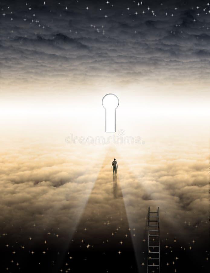 Équipe le voyage de l'âme illustration libre de droits